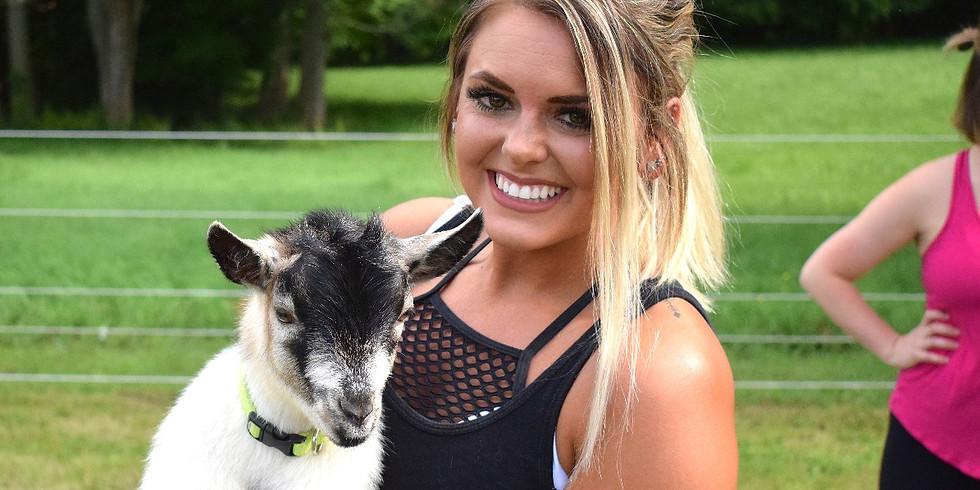 Goat Yoga July 2nd