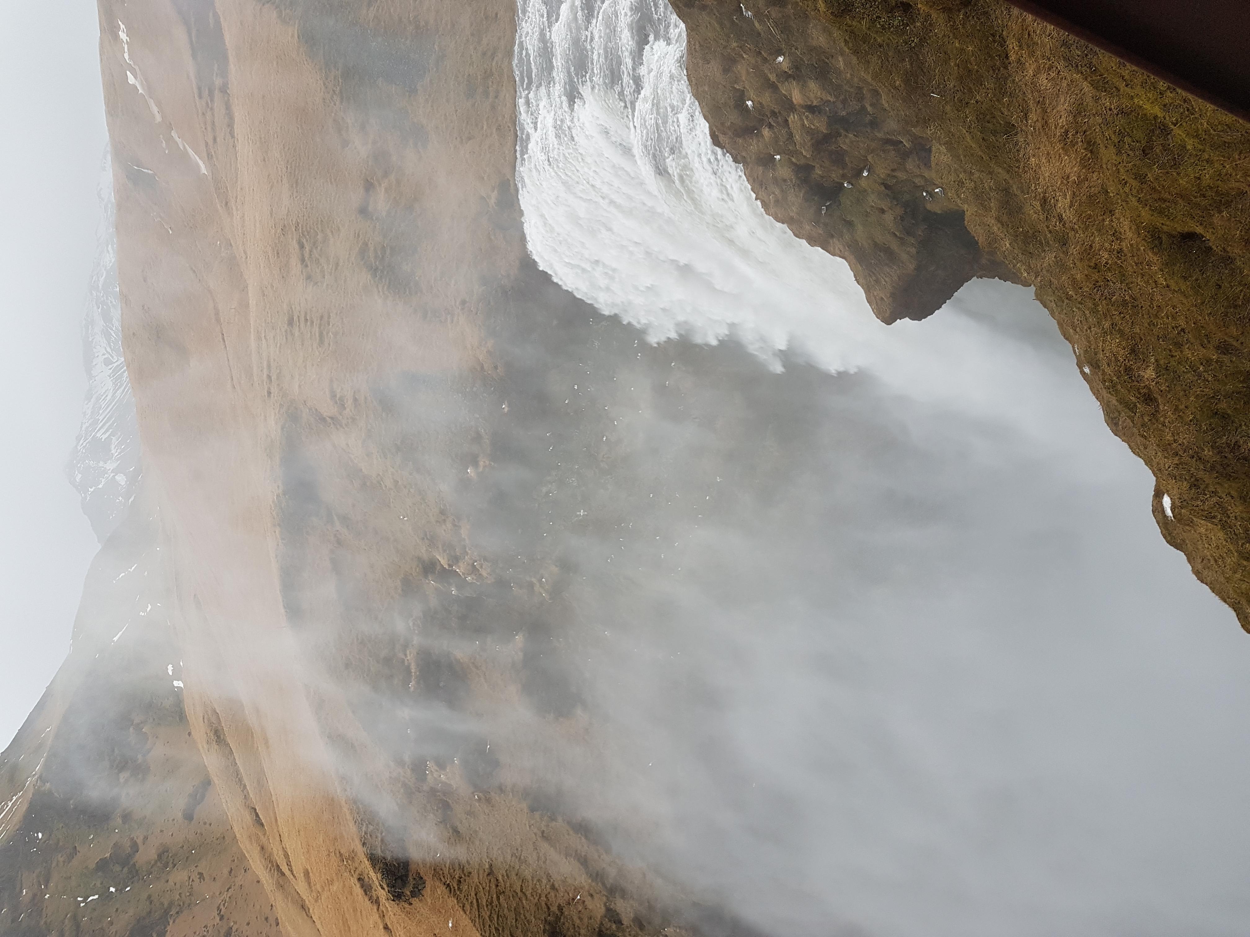 Islande chute