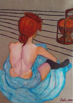 d'apres Toulouse Lautrec