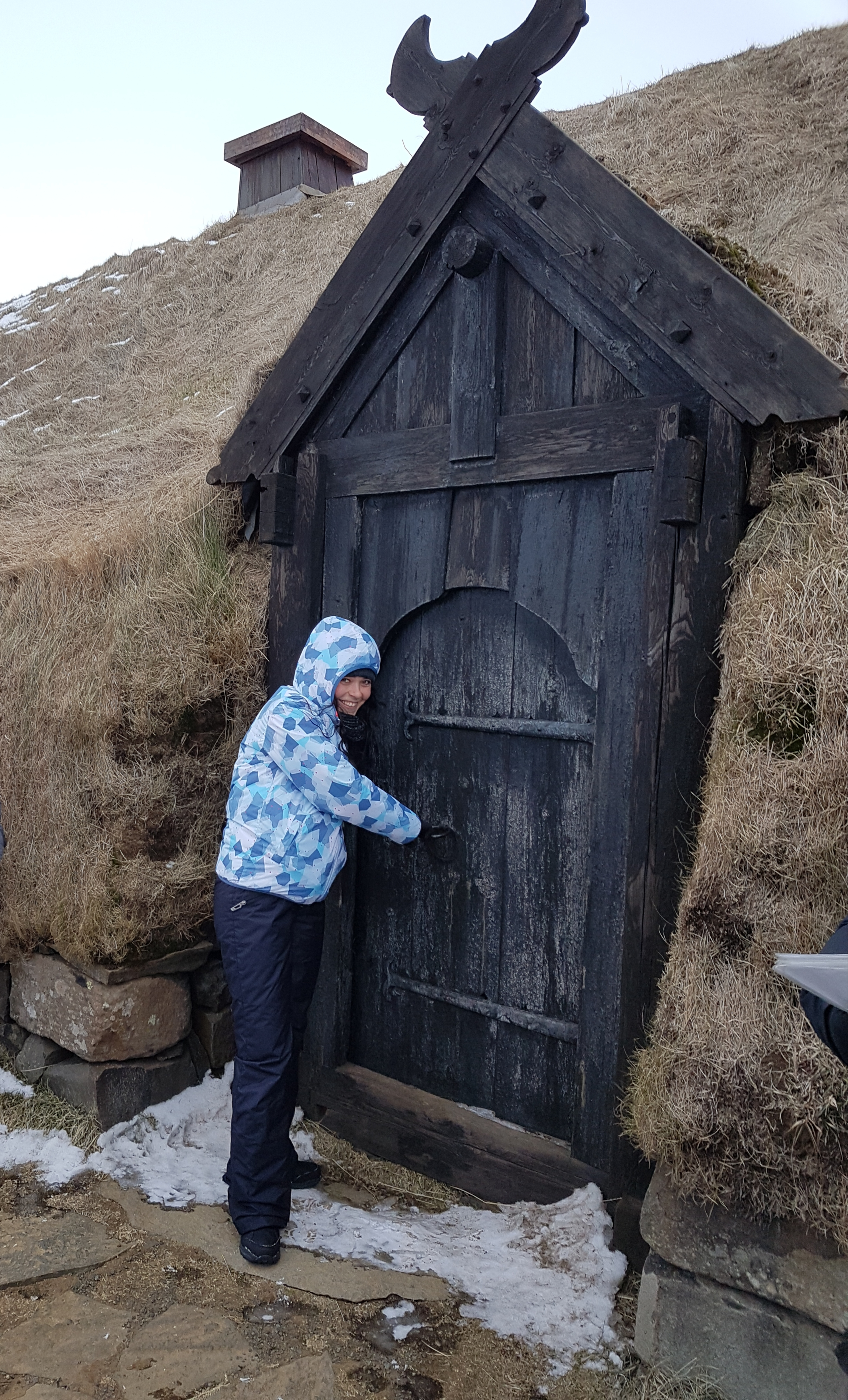 Islande maison tourbe