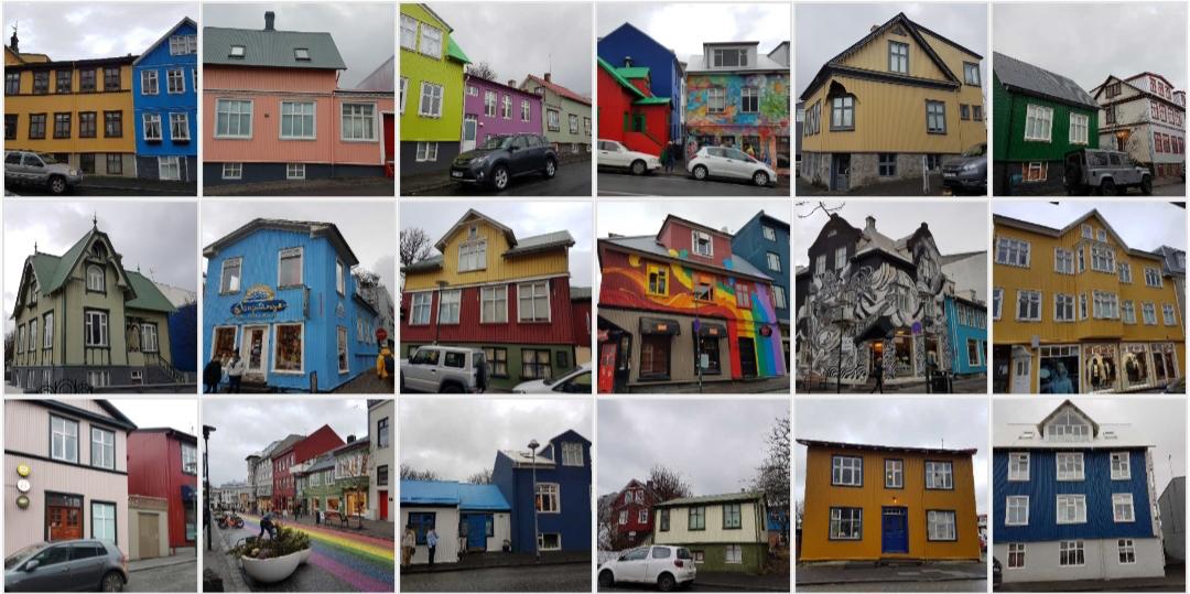 maisons Reykiavik Islande