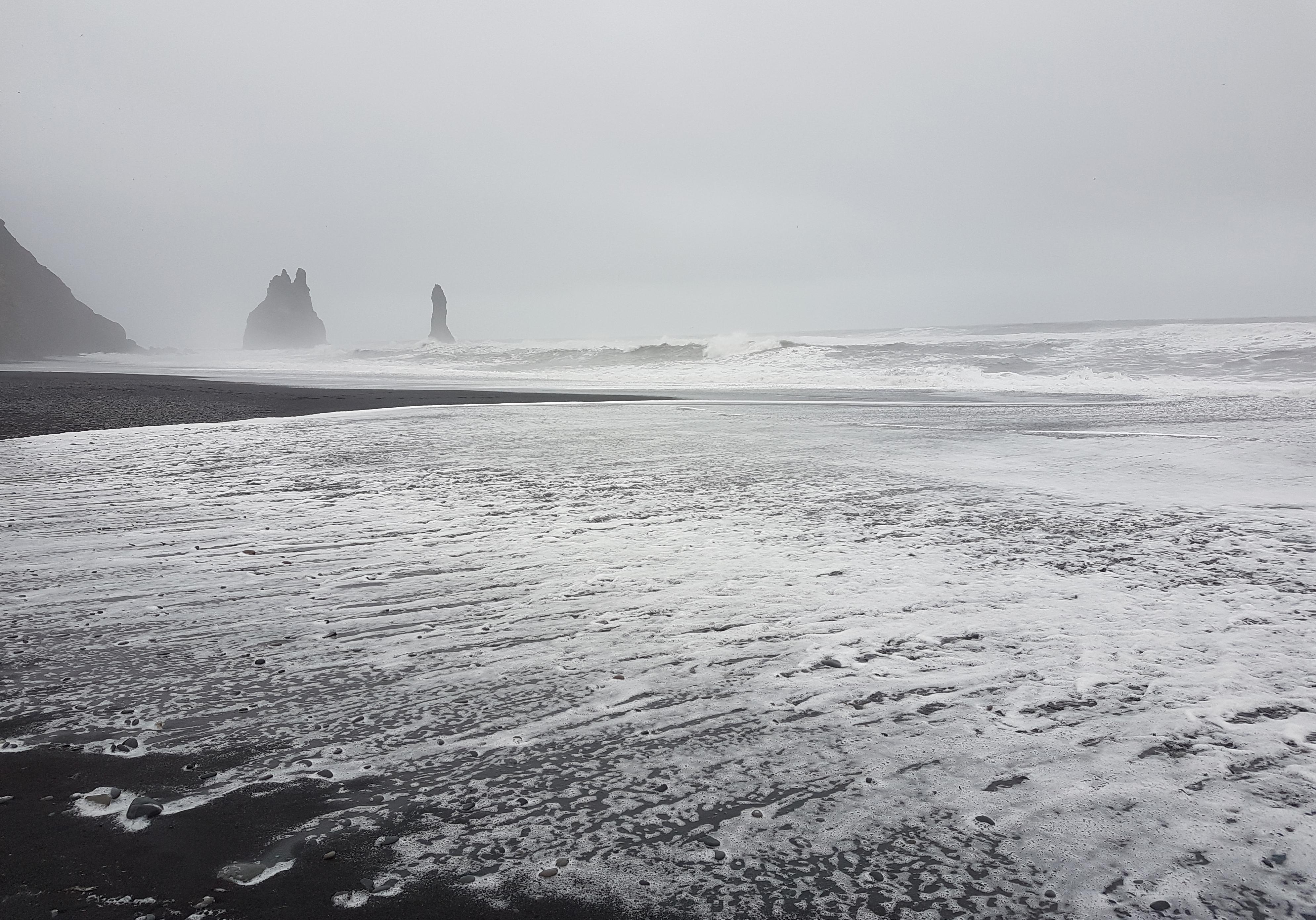 Islande plage sable noir 2