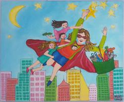 maman super heros
