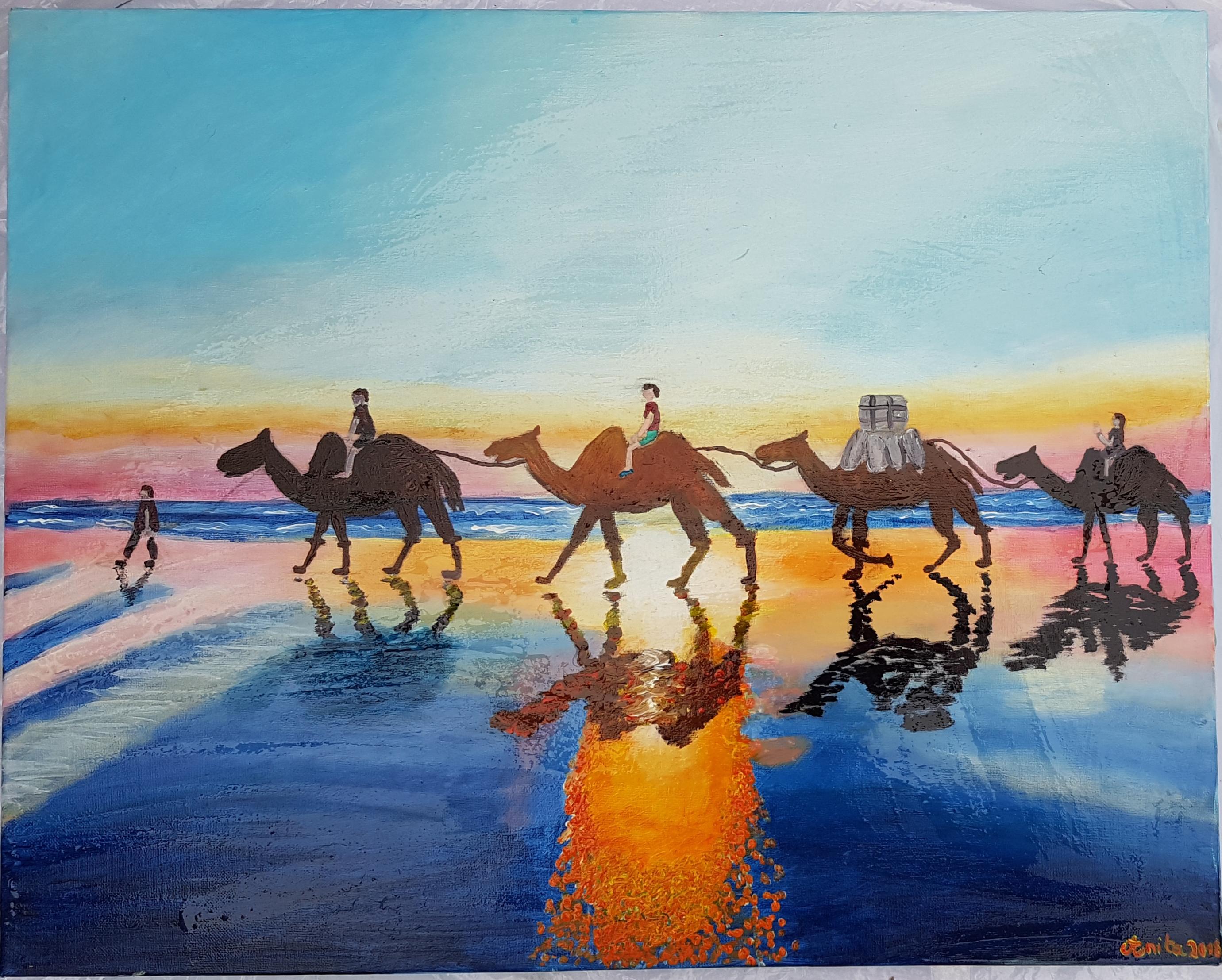 je voudrais un coucher de soleil avec vu
