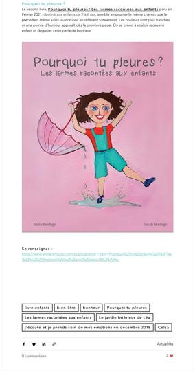 Prestige santé livres enfants- article 1