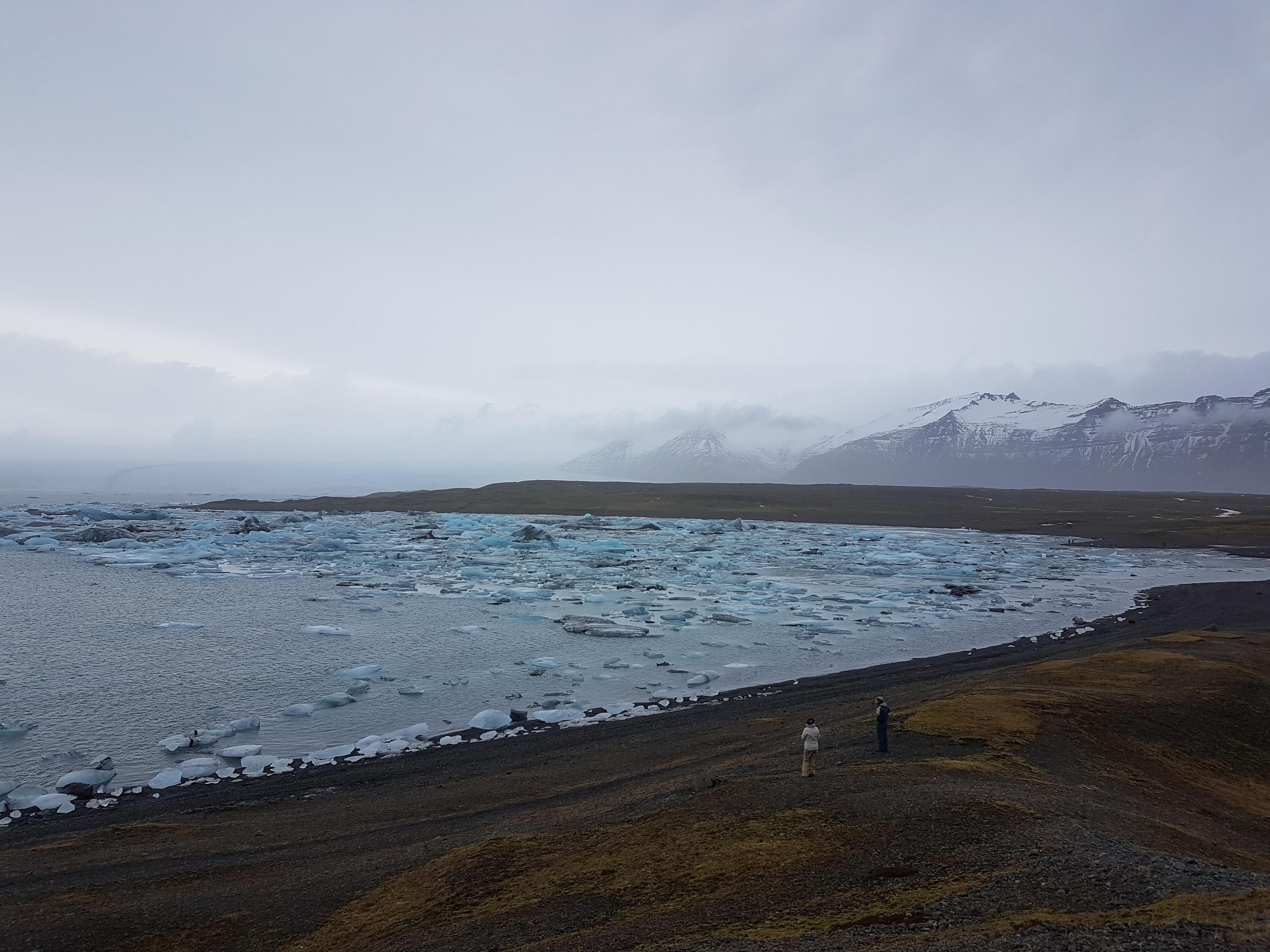 Islande plage d'iceberg
