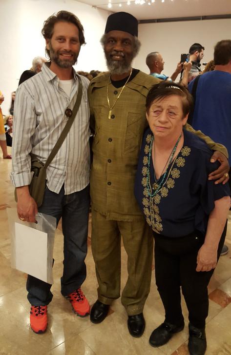 עם פרינס עימנואל, ראש העדה של הכושים העיבריים