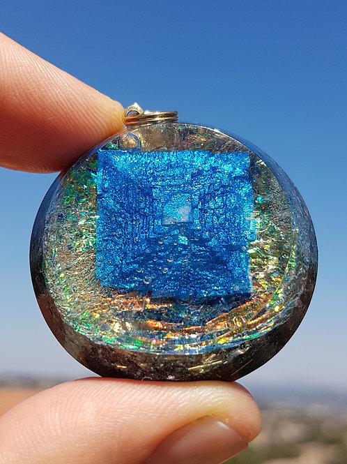 פרמידת מלח כחולה