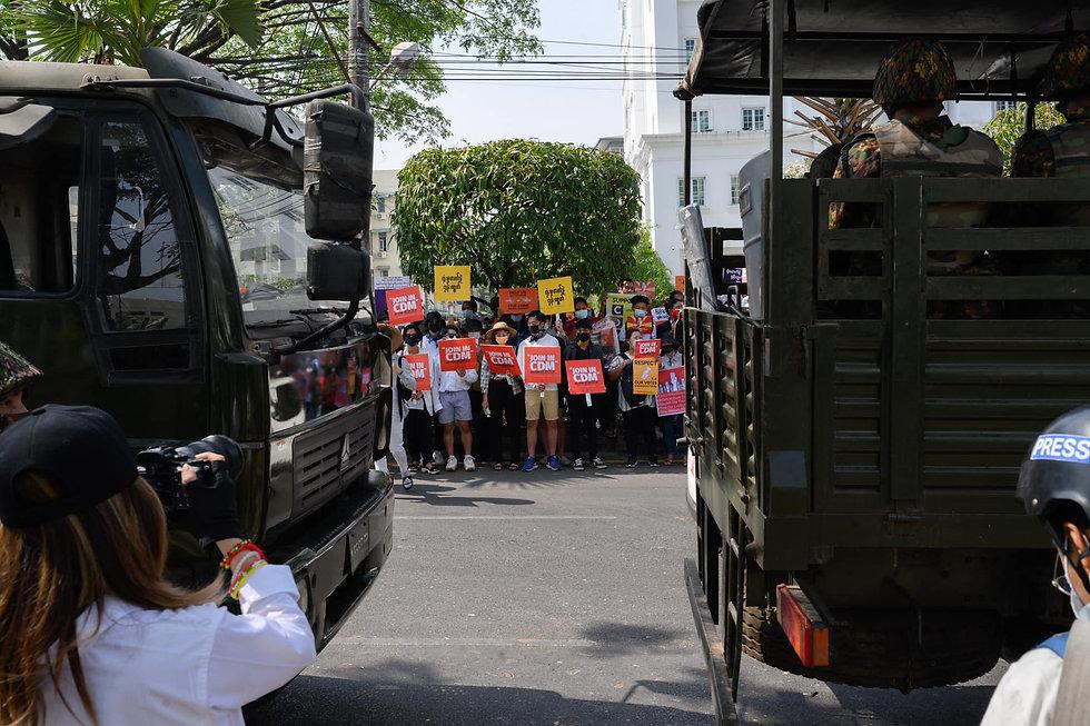 Civil Disobedience Movement in Myanmar