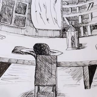 Тишина в библиотеке