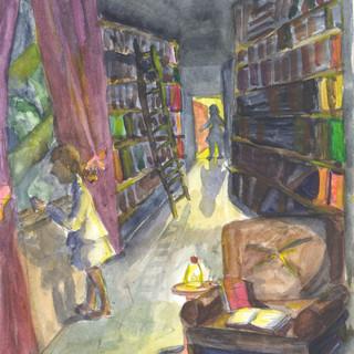 12 лет Анна Ширина Орёл Сара в библиотеке.jpg