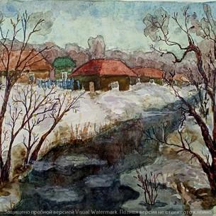 Ранняя весна на р. Ельчик