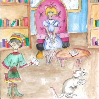 12 лет Аиша Аликулова Химки Тишина в библиотеке.jpg