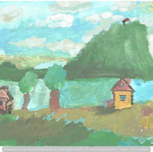 Деревня у Днепра