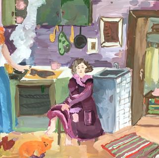 11 лет Козлова Мария  Москва На кухне.jpg