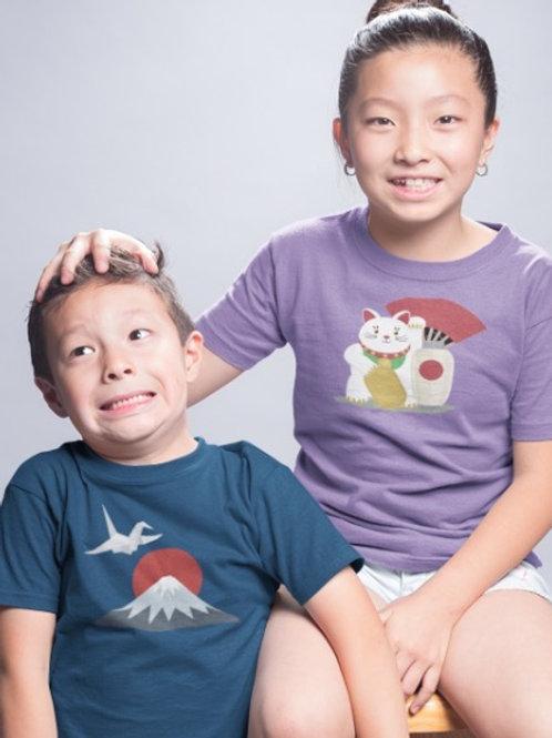 Kids Japanese Shirts