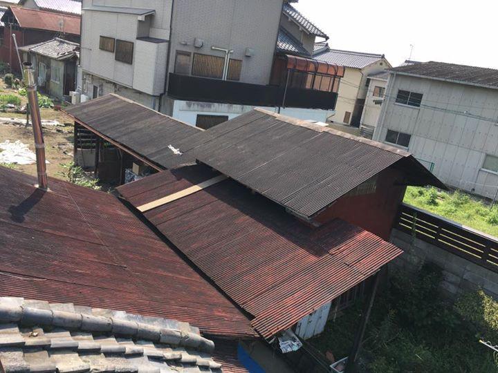 屋根塗装・施工前