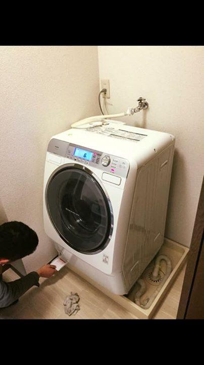 便利屋やまと・洗濯機取り付け