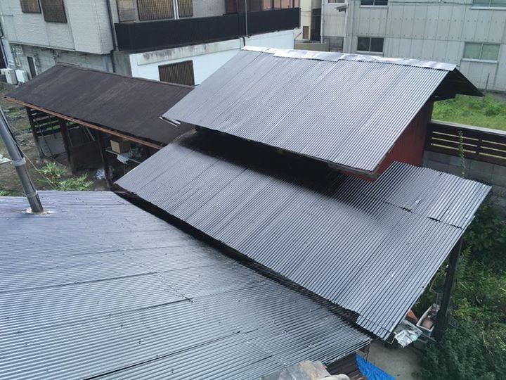 屋根塗装・施工後