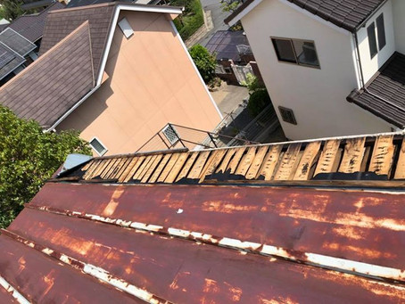 屋根 シート張り