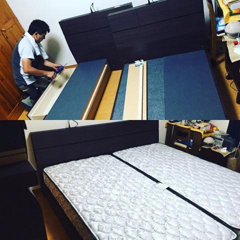 奈良 便利屋 ベッド組み立て