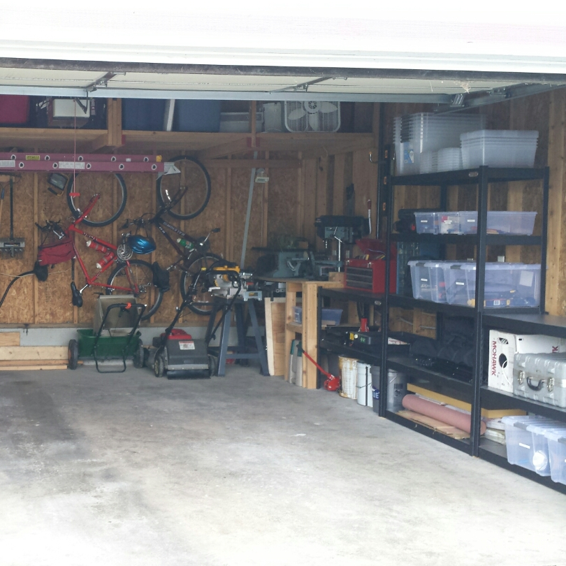 Cluttered Garage After 2