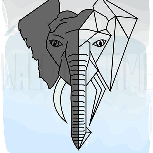 Elephant DIGITAL Print Download
