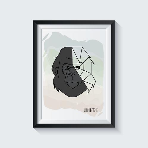 A4 Gorilla Print