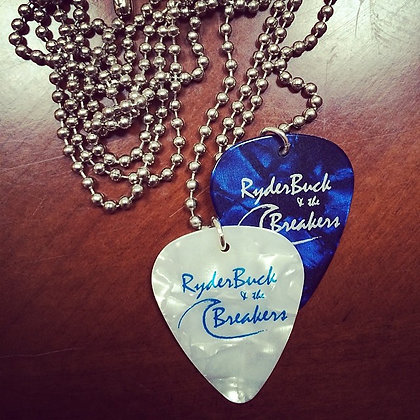"Guitar Pick Necklace - 22"" adjustable"