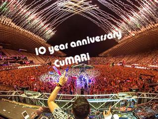 10 year anniversary 池袋 美容室CuMARi 2018年11月26日
