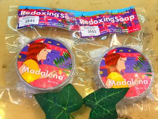 池袋 美容室クマリで販売の新商品です。Redoxing Madalena レドキシング マダレナ石鹸。