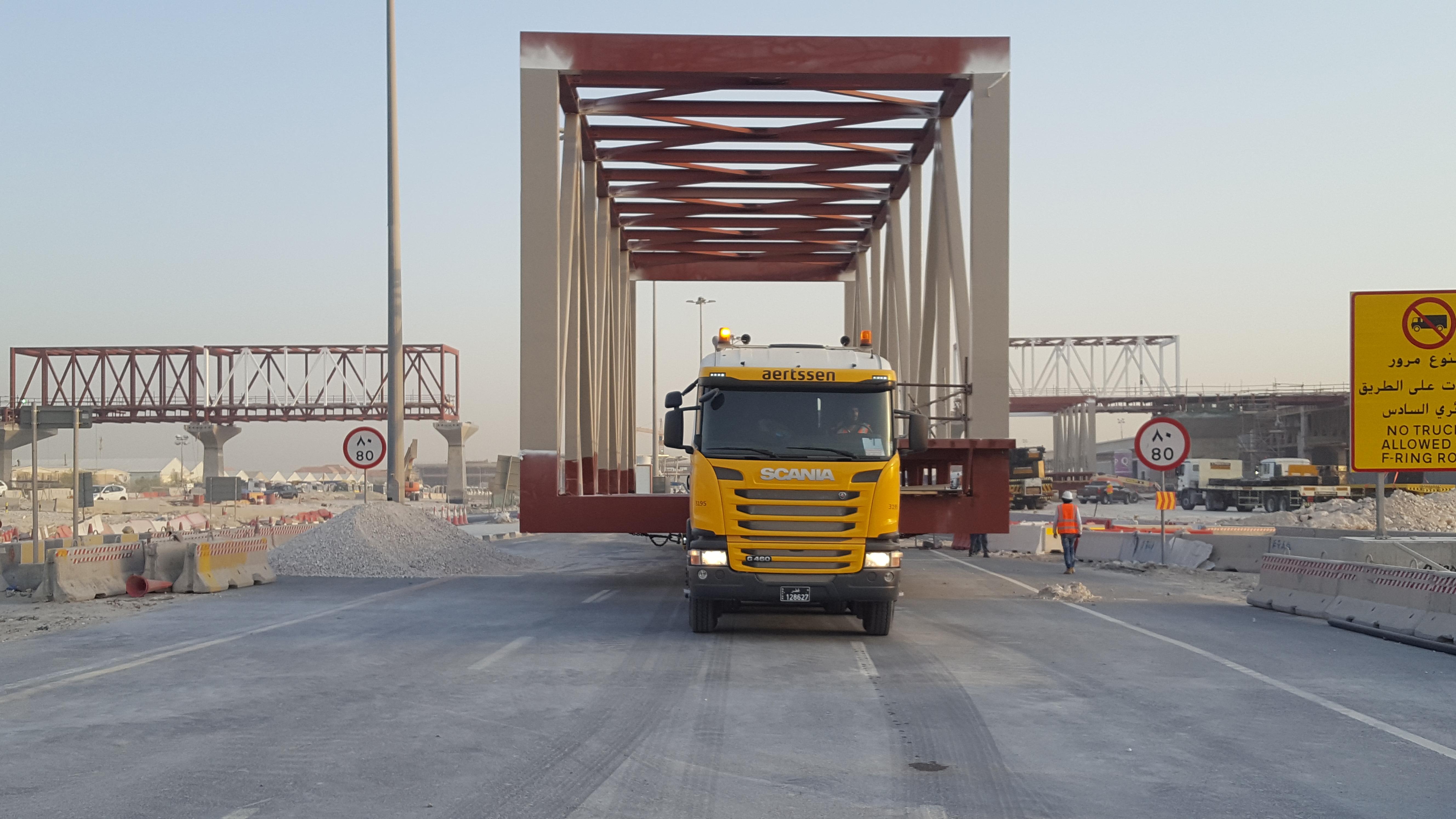 special transport pedestrian Bridge