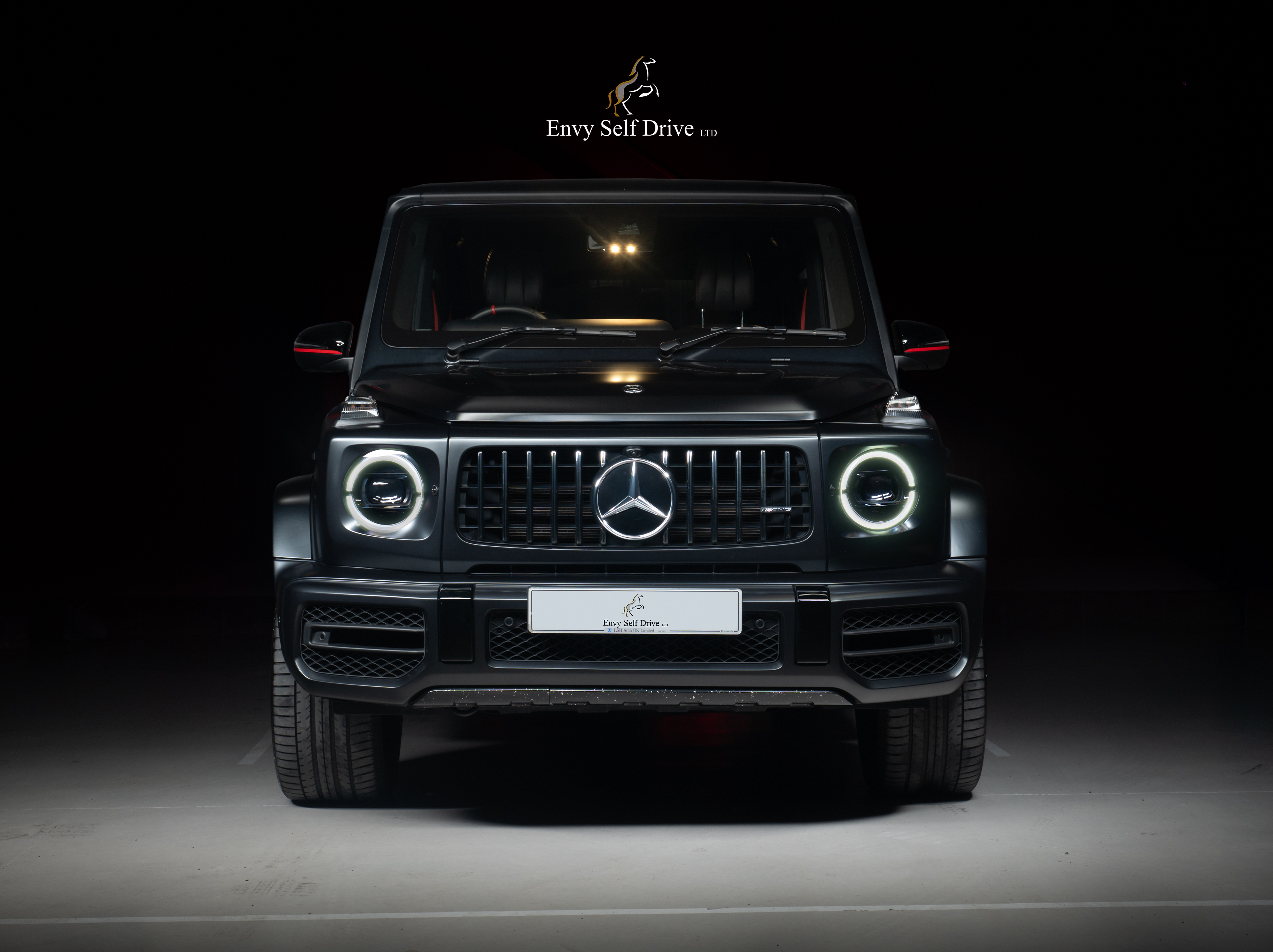 G WAGON FRONT