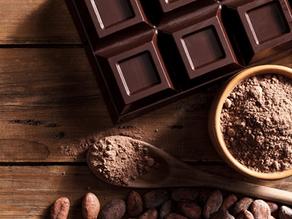شوكولاته دارك وزنها 20 جرام