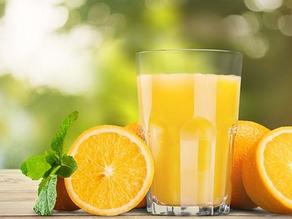 كوب عصيربرتقال (نعصر 4 برتقال متوسط )