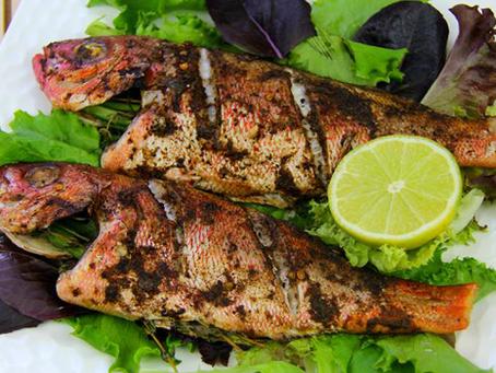 2 سمك  مشوي اي نوع