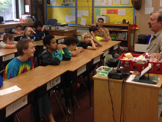 Bob Borofsky teaches about rocks and minerals