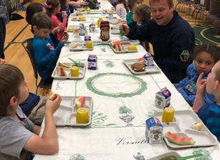 Kindergarten First Responders Lunch