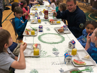 Kindergarten First Responders Lunch
