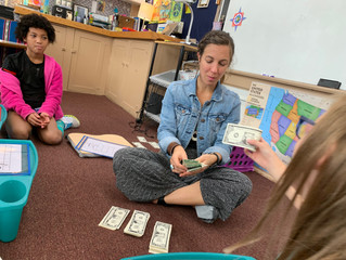 4th Grade Math Stations