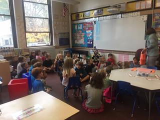 Mrs. Germain's 3rd Grade and Ms. Winn's Kindergarten