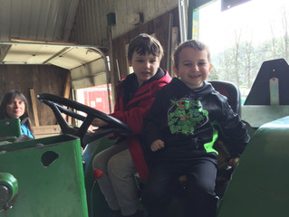 Kindergarten trip to Stonewall Farm