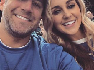 Justin Barrier and Sarah Hughes