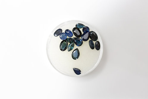Oval Sapphires 6.15 Cttw.