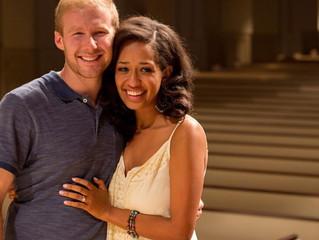 Ryan Williams and Ruthie Mengistu