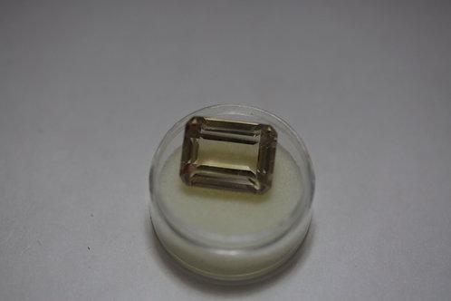 Emerald Topaz 12.7x16.7mm 16.29Cttw.