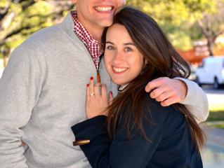 Nate Mahrt and Annie Carman