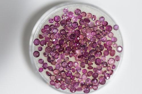 Round Rubies 8.3 Cttw.