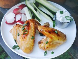 Sweet n Sticky Chicken Wings