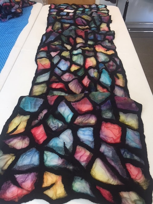 Stained Glass Shawl Kit